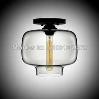 hot selling Modern glass ceiling lamp, Design by Lagranja Lamp dia25cm*h25cm