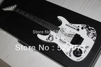 best china guitar New Arrival Hammett Ouija White opera Electric guitar OEM Musical Instruments