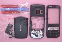 Black Plastic full housing cover +keyboard +tools for Nokia N73+Hongkong post