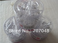 3 box/lot  ,29mm White  color High qulity transparent  plastic  clips+ Free shipping
