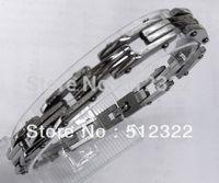 DK10023-2 FREE SHIPPING Gentlemen brancelet Fashion Hand chain stainsteel