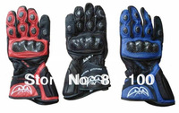 Free shipping Italy BERIK eyes leather gloves, motorcycle gloves racing knight carbon fiber protection luvas motorcycle