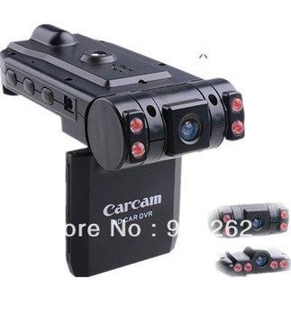 Free shipping,New car black boxes car DVR X1000 HD 1440*1080P dual camera recorder, multi-languages, USB/HDMI out