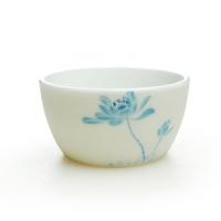 Kung fu tea white tea cup translucidus ingot cup events