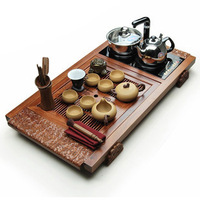 Yixing tea kung fu tea teaberries set rosewood tea cooker -