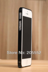 MOQ 1pc Newest Cross Line Case 0.7mm Ultra thin SP-5 Metal Bumper For iPhone 5 5G, with retail ,Free Shipping(China (Mainland))