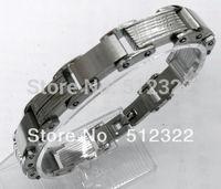 DK10023-7 FREE SHIPPING Gentlemen brancelet Fashion Hand chain stainsteel