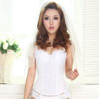 Rolian mille autumn new arrival wedding dress series of underwear push up bra tightening belt one-piece free shipping