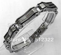 DK10023-9 FREE SHIPPING Gentlemen brancelet Fashion Hand chain stainsteel