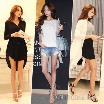 Free Shipping Fashion Womens Ladies Clothing Long Sleeve Knitwear Casual Tops Cardigan Outerwear Jacket Coats Black Khaki S 0732