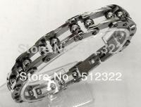 DK10023-11 FREE SHIPPING Gentlemen brancelet Fashion Hand chain stainsteel