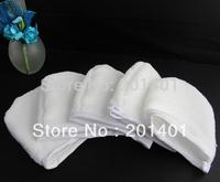 White Microfiber Facial Glove/Cosmetic Mitt/Microfiber Makeup Remover 20pcs/lots