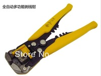 Free Shipping 3 in 1 Automatic Cable Wire Stripper Self Adjusting Crimper Terminal Cutter Tool