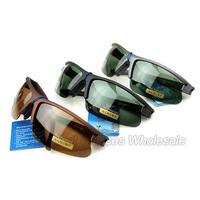 3 Multi Colors Polarized large sunglasses driving glasses aluminum magnesium sun glasses mirror driver Wholesale  Free Shipping