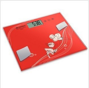 ef962 fat soft touch electronic weighing human body scale free shipping(China (Mainland))