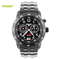 Original traser h3 t4004 classic alarum table waterproof luminous watches army watch