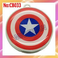 wholesale hot Captain America style usb flash disk 1GB 2GB 4GB 8GB 16GB 32GB 64GB usb flash drive #CB033