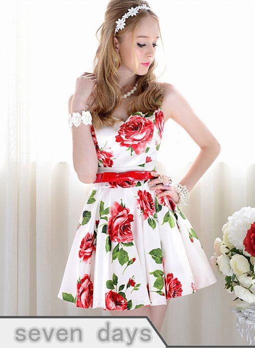 Платье Белое С Цветами Фото