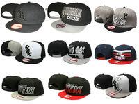 Hottest red white sox mlb paragraph snapback adjustable baseball cap hip-hop hiphop