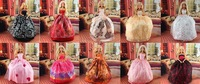 Handmade Party Doll's Dress Clothes Gown For Barbie best baby christmas gift  a412