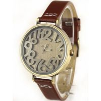 Mini table brief fashion vintage watch vintage wristwatch best gift for ladies