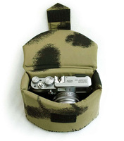 Camo SLR Camera Bag Case Insert Padded Protection Case Bag For X100 G10 EP2 3