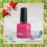 Free Shipping 2015 Lastest Edition 10pcs Nail Art Polish LED UV Gel 36 Colors 7.3ml Soak Off Lacquer (8pcs colors+1top+1base )