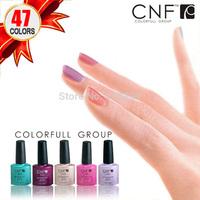Free shipping Wholesale 20PCS/LOT 7.3ml CNF Soak-Off Nail Gel Polish UV LED Art polish Care Retail (16pcs Colors+2 Base+2 Top)
