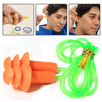 Free Shipping 2013 ultra soft christmas tree anti-noise earplugs ear with cable sound insulation earplugs sleeping Top Shop