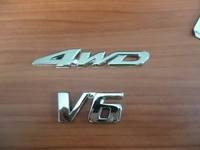 Full metal 4wd v6 emblem 4x4 emblem