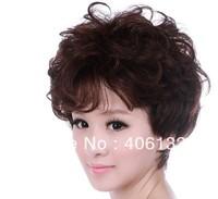 hot sale 100% human hair,high quality human hair short wig,fashion human hair wigs,handwoven curly wigs,homespun lady wigs