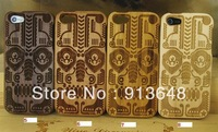 Hot sales! for Iphone5 black walnut wood Bamboo,maple wood ,cherry wood case