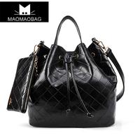 Cat bag 2013 vintage drawstring bucket bag shoulder bag handbag women's handbag m07-018
