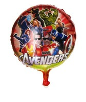 Free shipping 10pcs/lots  wholesales helium quality  18 inch  the Avengers foil balloon (red color ) , Party balloon