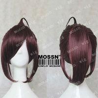 New Inu x Boku SS Sorinoduka Lenshou purple brown mix Cosplay Costume Wig+ wig cap