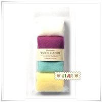 Tapirs hamanaka2011 candy color wool felt small set h441-123-2