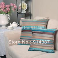 Wholesale fashion sense of 45-45 cm stripes cars package cushion pillow case + free shipping