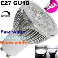 1x Hot Sale!!! Dimmable NEW CREE High Power GU10 MR16 E27 12W LED Light Bulb LED Lamp Spotlight