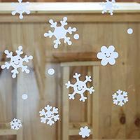 New year decoration wall sticker glass stickers waterproof window stickers Christmas small
