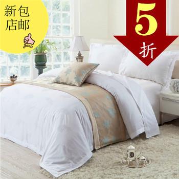 Piece set cotton 100% cotton jacquard four piece set bedding
