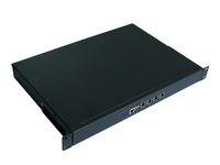 OO Ahome BW U100 Barebore System (1U Case+BW25H24 Motherboard), 4*Intel Chip Giga LAN,Firewall System,Firewall Computer Server