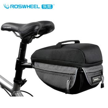 Quick release bicycle stacking shelf bag pack package back seat bag stacking shelf slr camera bag