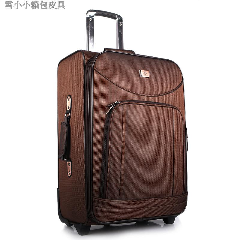 Trolley luggage travel bag code case trolley luggage 20 spring 24 oxford fabric luggage bag(China (Mainland))