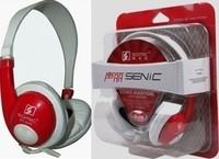 St-440 earphones headset fashion earphones computer headset belt microphone