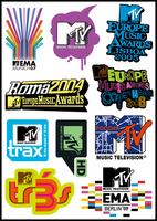 Free shipping Mtv monoboard laptop stickers motorcycle waterproof stickers pvc stickers sticker