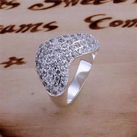 R166 Wholesale! Wholesale 925 silver ring, 925 silver fashion jewelry, fashion ring