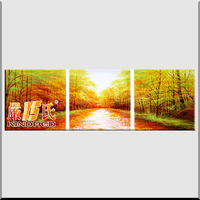 Oil painting 3 pure decorative painting picture frame ys-ppcp100479