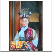 Pure figure oil painting decorative painting little princess yspt1003188