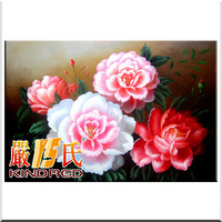 Pure hand painting oil painting home decoration painting peony 60x90cm yspt1002955
