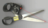 Genuine laser scissors will not cut off the scissors of exotic goods home furnishing daily-FREE SHIPPING